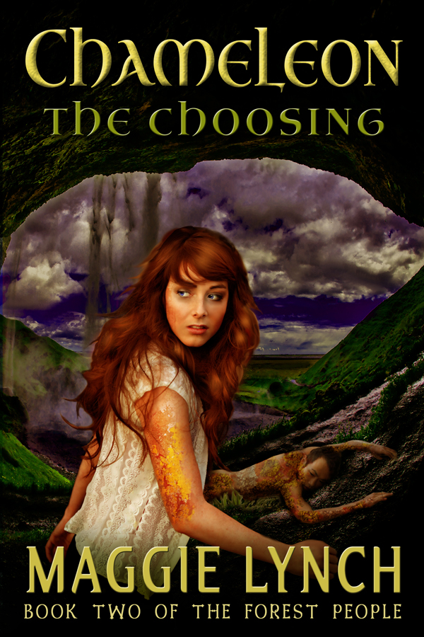 Book Cover Chameleon The Choosing by Maggie Lynch