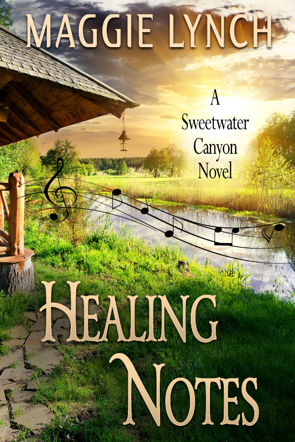 Healing Notes by Maggie Lynch, new cover 2021
