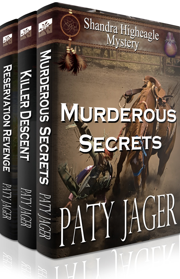 Shandra Higheagle Mysteries Books 4-6 Box Set by Paty Jager