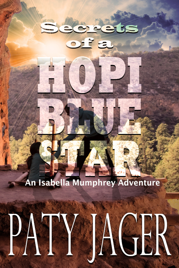 Cove for Secrets of a Hopi Blue Star by Paty Jager