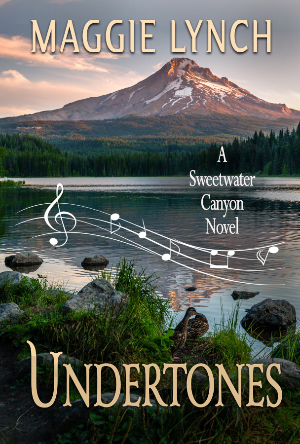 Undertones by Maggie Lynch, new cover 2021