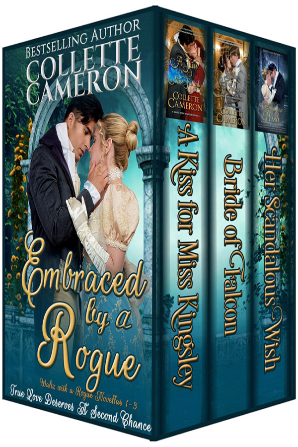 Embraced by a Rogue Box Set by Collette Cameron