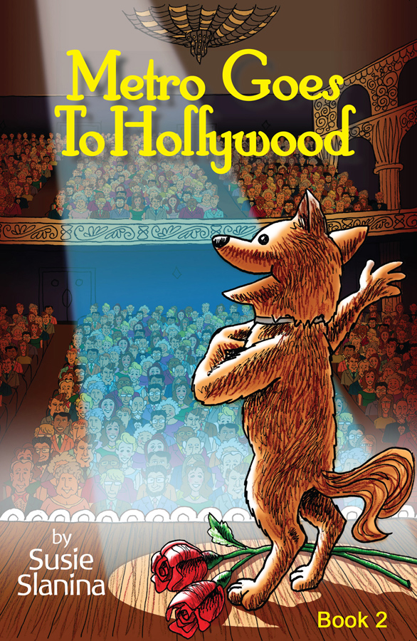 Metro Goes to Hollywood by Susie Slanina