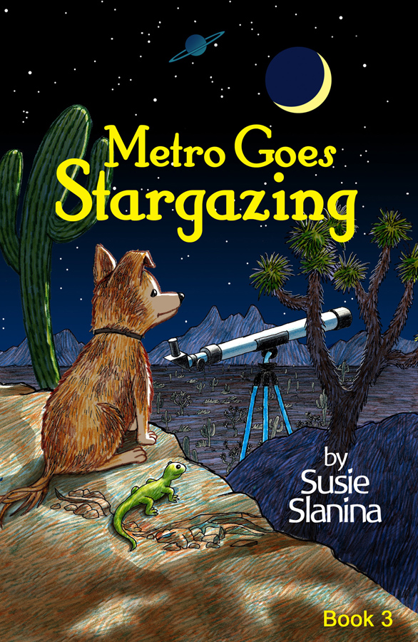 Metro Goes Stargazing by Susie Slanina