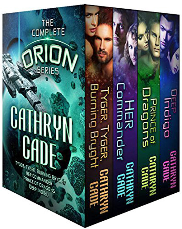 The Orion Series, SF Romance, Box Set 4 books