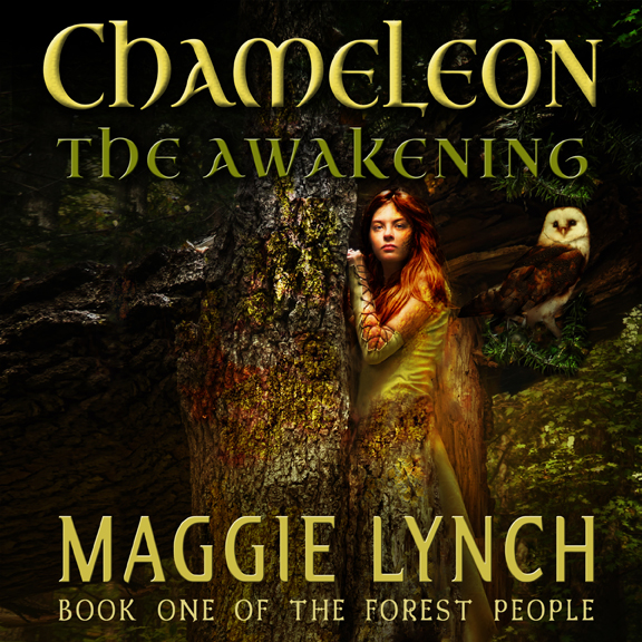 Audiobook Cover Chameleon theAwakening by Maggie Lynch, Narrated by Rachel Jacobs