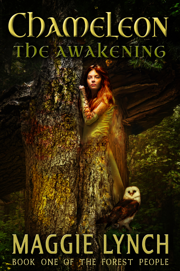 cover for Chameleon: The Awakening by Maggie Lynch