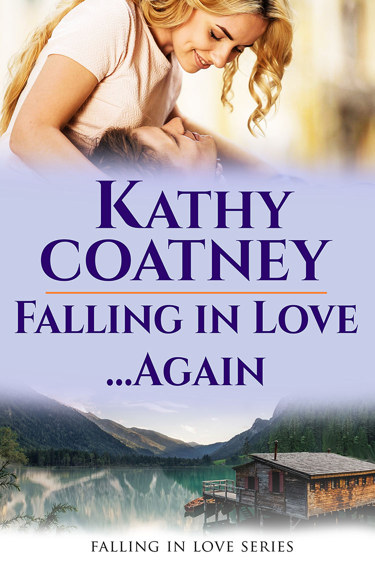 cover for Falling in Love Again by Kathy Coatney