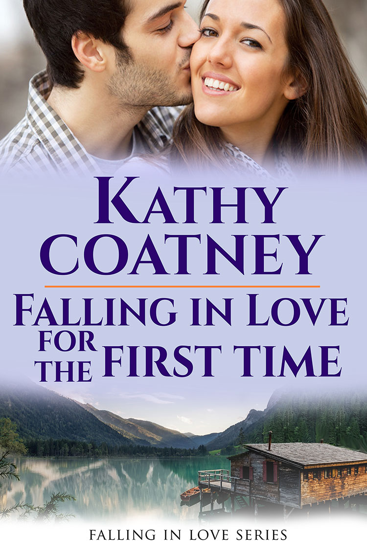 cover for Falling in Love for the First Time by Kathy Coatney