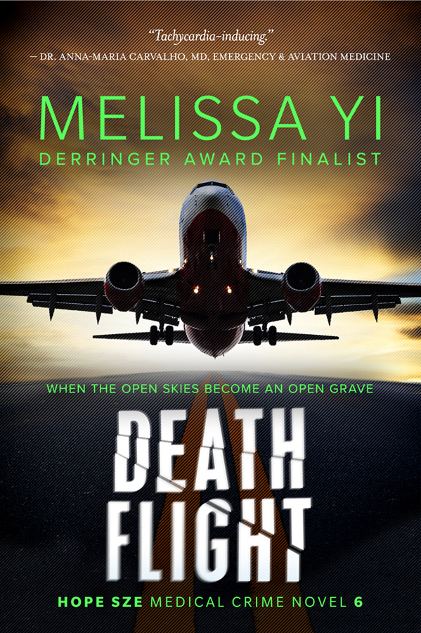 Death Flight cover by Melissa Yi