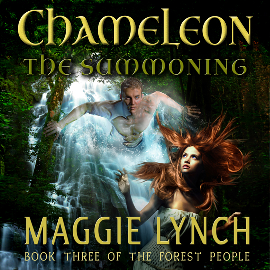 Audiobook Cover, Chameleon: The Summoning by Maggie Lynch