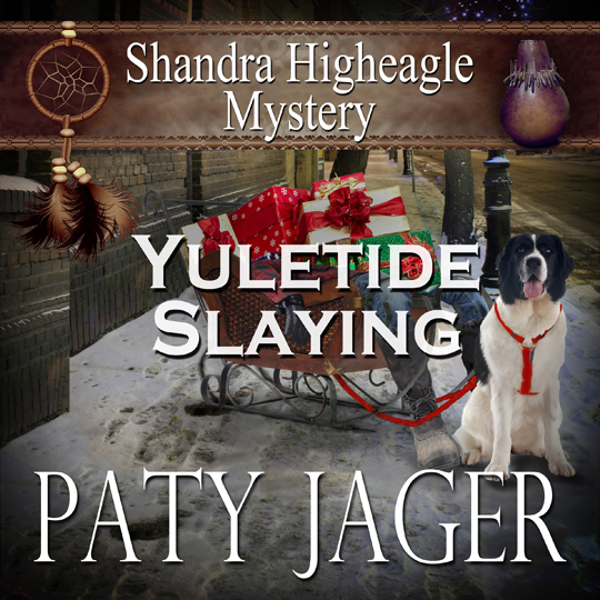 cover Yuletide Slaying Audiobook by Paty Jager