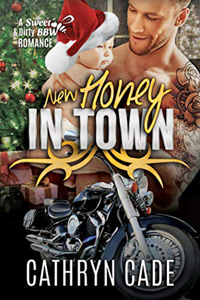 Cover New Honey in Town by Cathryn Cade