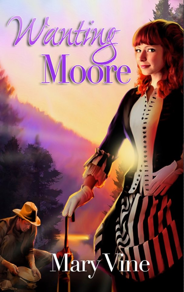 Cover for Wanting Moore by Mary Vine
