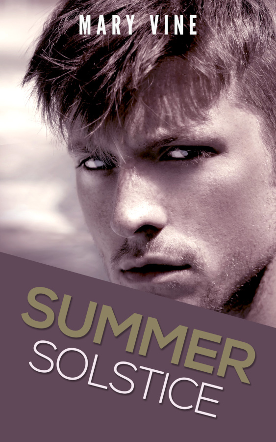Cover for Summer Solstice, a time travel novella by Mary Vine