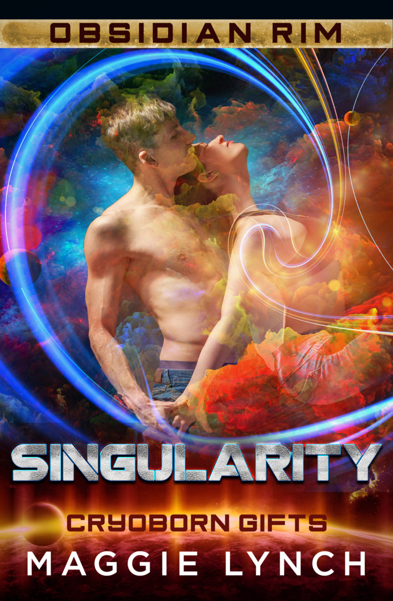 Cover for Singularity by Maggie Lynch