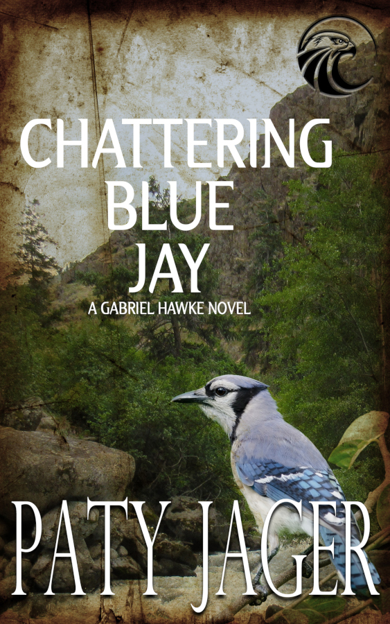 Cover for Chattering Blue Jay by Paty Jager