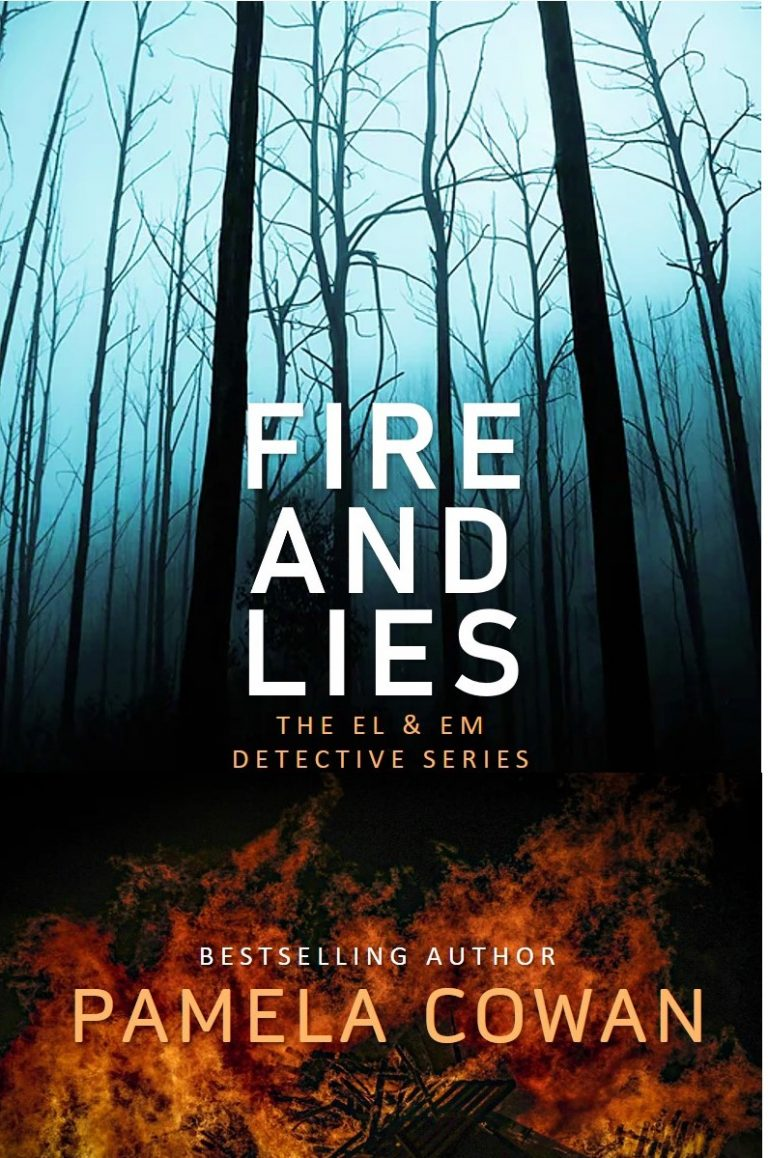 Cover for Fire and Lies by Pamela Cowan