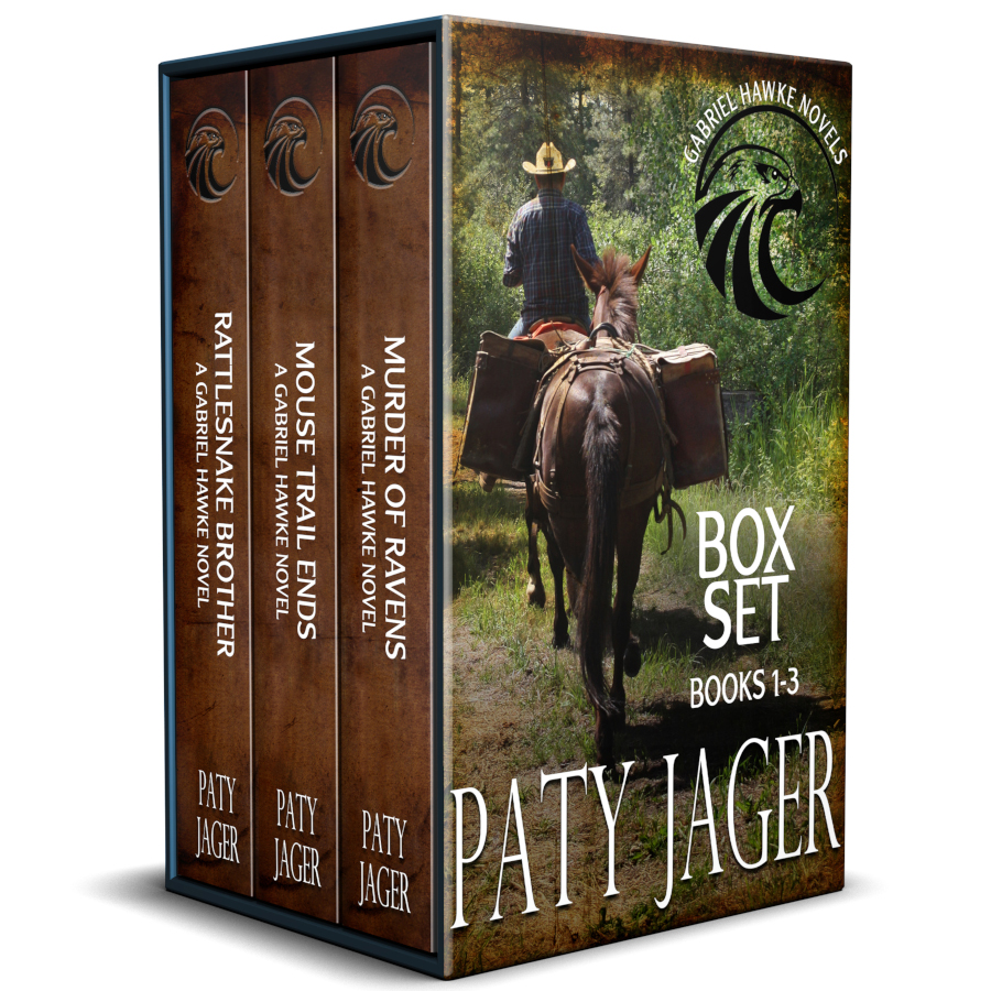 Bosxet image of books 1-3 in Gabriel Hawke series