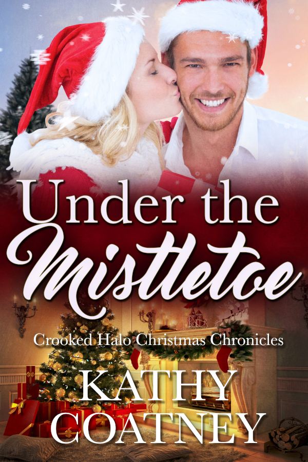 Cover for Under the Mistletoe by Kathy Coatney