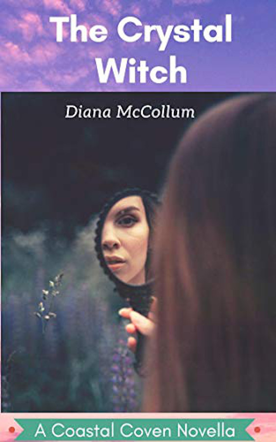 Cover for The Crystal Witch by Diana McCollum